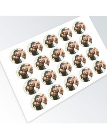 impresión en papel perla