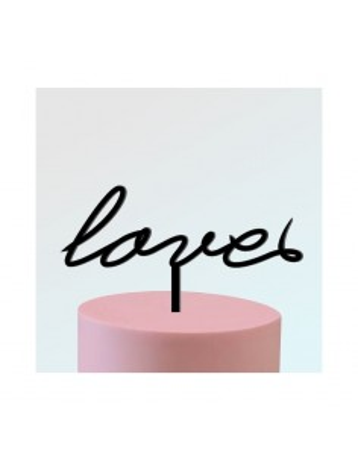 "Topper ""LOVE"" 2"
