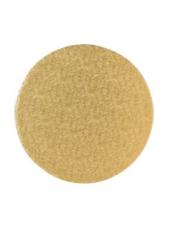 Base redonda dorada gruesa 30 cm