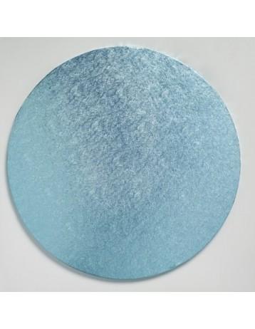 Base redonda azul gruesa 30 cm