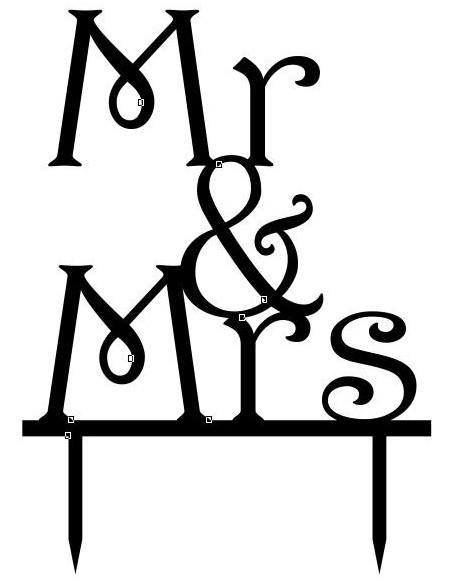 """Topper """"Mr. & Mrs."""""""