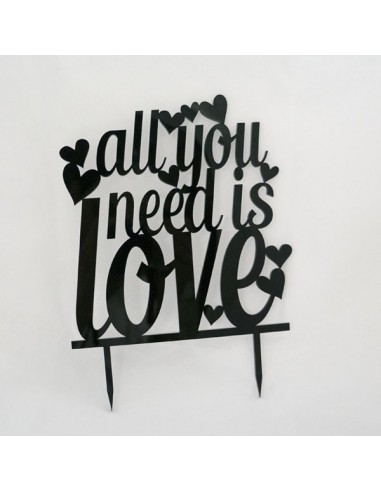 Topper all you need is love