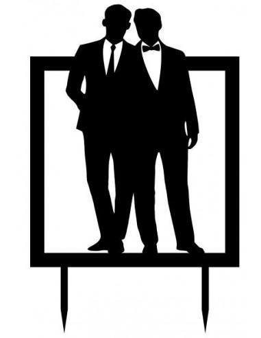 Topper boda gay 4