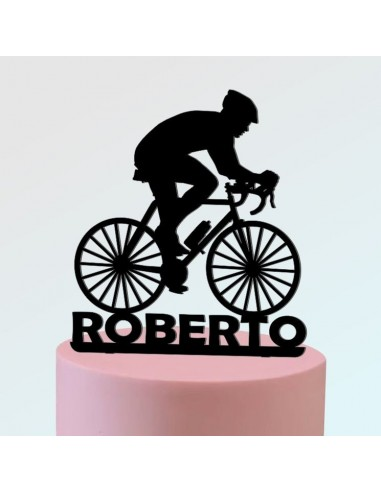Topper ciclista personalizado