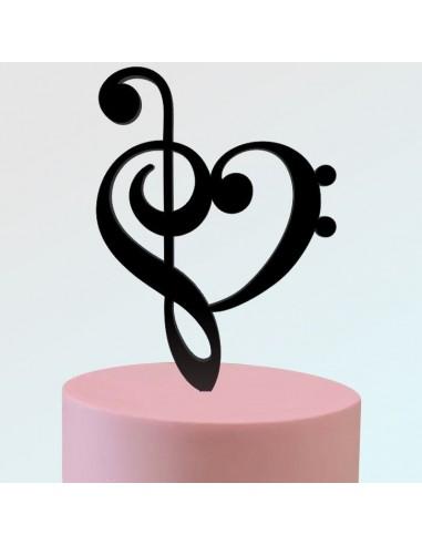 Topper Amor por la Música