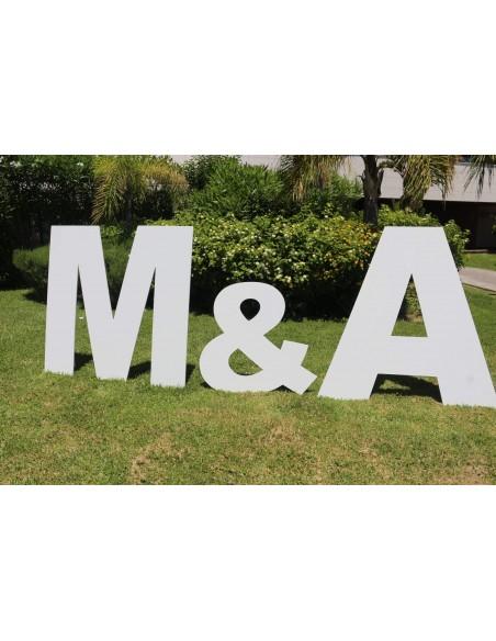 Letras de poliespan para bodas