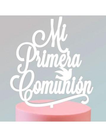 "Topper ""Mi Primera Comunión"" 2"